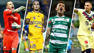 Los futbolistas más destacados de la jornada 1.