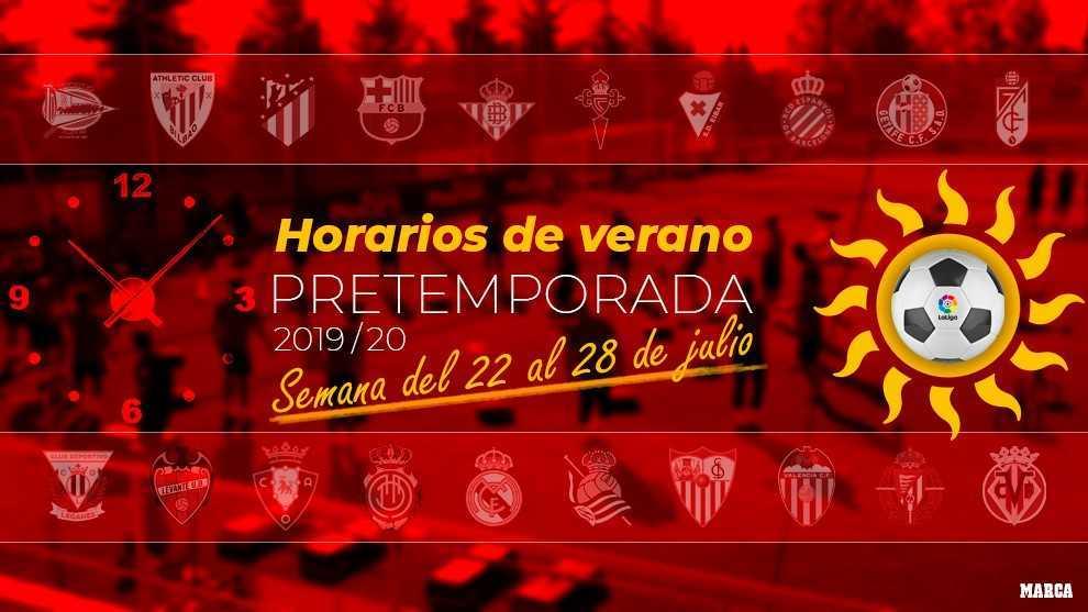 Calendario Julio 20019.Laliga Pretemporada Calendario De Partidos Fechas