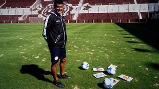 El argentino Jorge Almidón es el técnico del equipo saudí