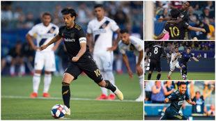 Los futbolistas mexicanos en la MLS.