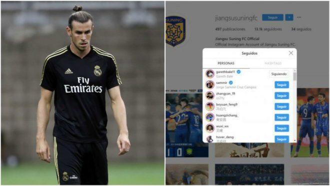 ¡El Jiangsu Suning ya sigue a Gareth Bale en Instagram!