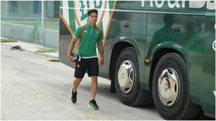 Diego Lainez estará en la gira del Betis en México.