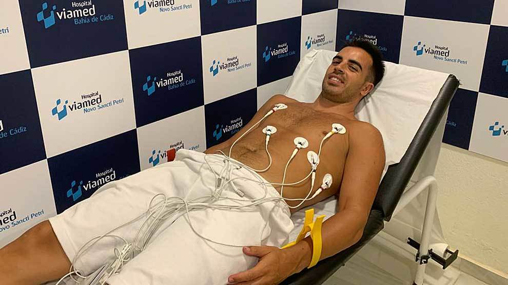 José Manuel Jurado ya ha pasado el pertinente reconocimiento médico