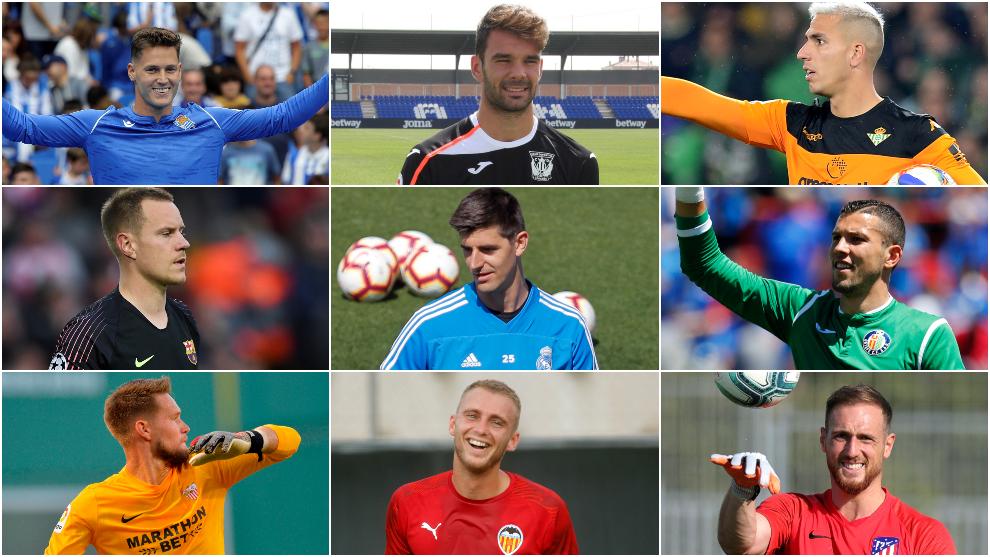 The goalkeepers of LaLiga Santander