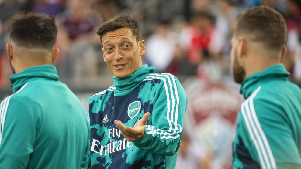 al por mayor baratas para descuento zapatillas Real Madrid: Mesut Ozil faces Real Madrid for the first time ...