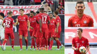 El Bayern, Lucas y Pavard.