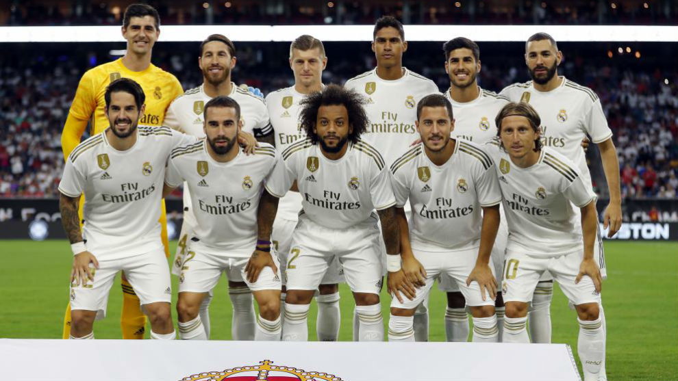 Once inicial del Real Madrid en la International Champions Cup ante el...