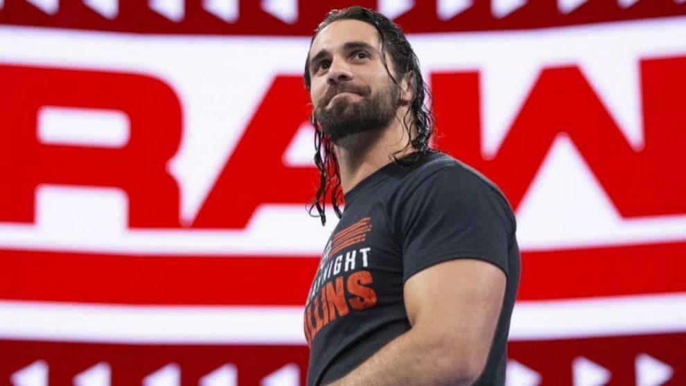 Seth Rollins en Raw.