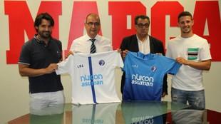 Las Rozas debuta en Segunda B por primera vez en su vida. Juan Ignacio...