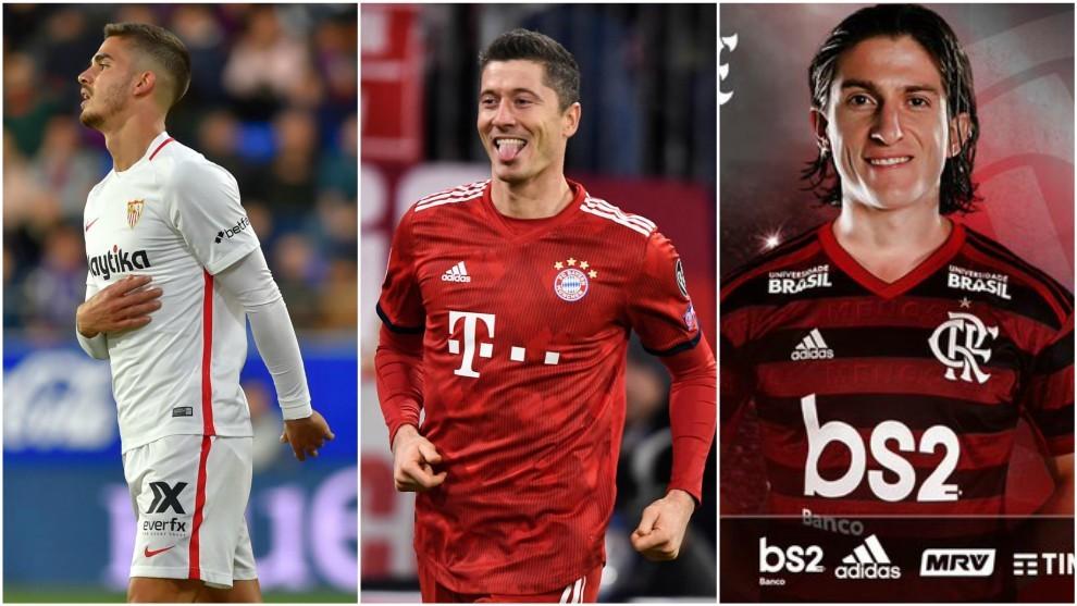 Fichajes: Mercado de fichajes: la petición de las estrellas del Bayern, la nueva aventura de Filipe Luis y el fichaje truncado de André Silva por el Mónaco   Marca.com