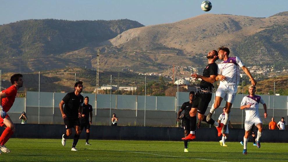 Imagen del partido disputado en Granada
