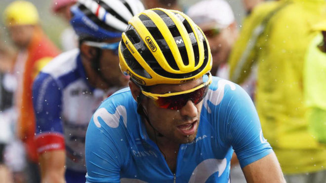 Mikel Landa, en el Tour de Francia.