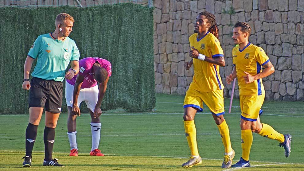Boateng, tras marcar el gol del triunfo en Marbella