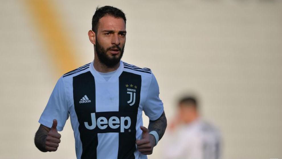 Grigoris Kastanos con la Juventus.