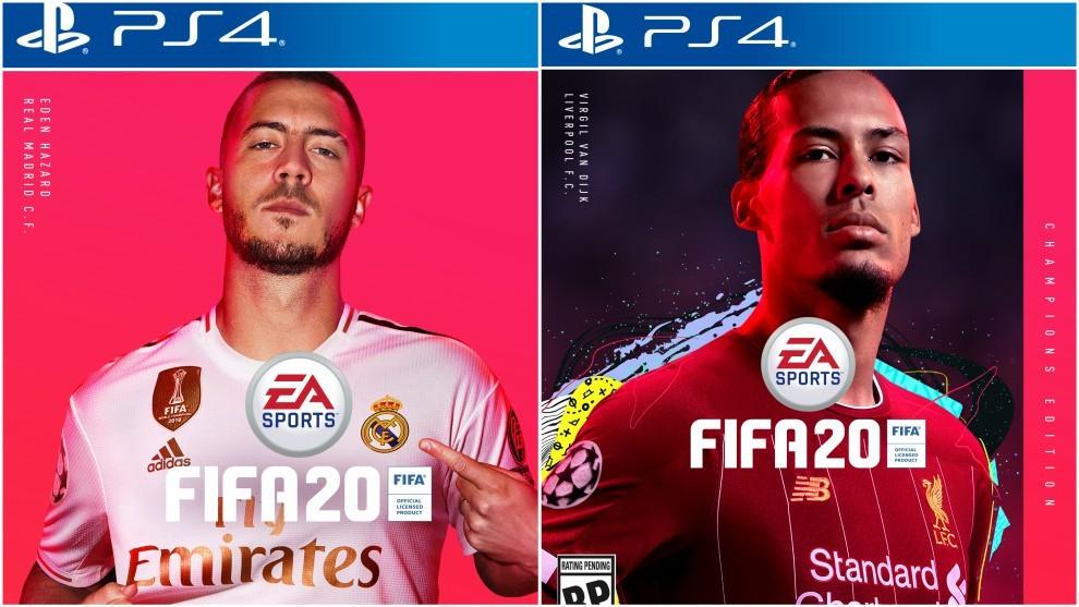 FIFA 20-ის Cover-ს აზარის და ვირჯილის ფოტო დაამშვენებს