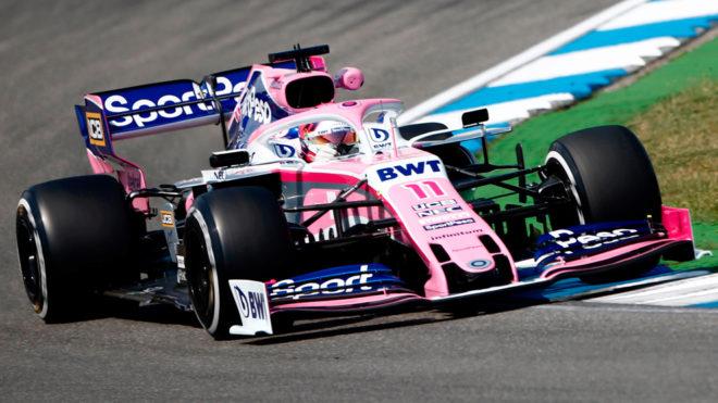Sergio Pérez abandona en la tercera vuelta
