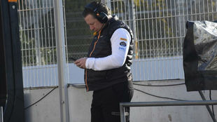 Zak Brown, CEO de McLaren.