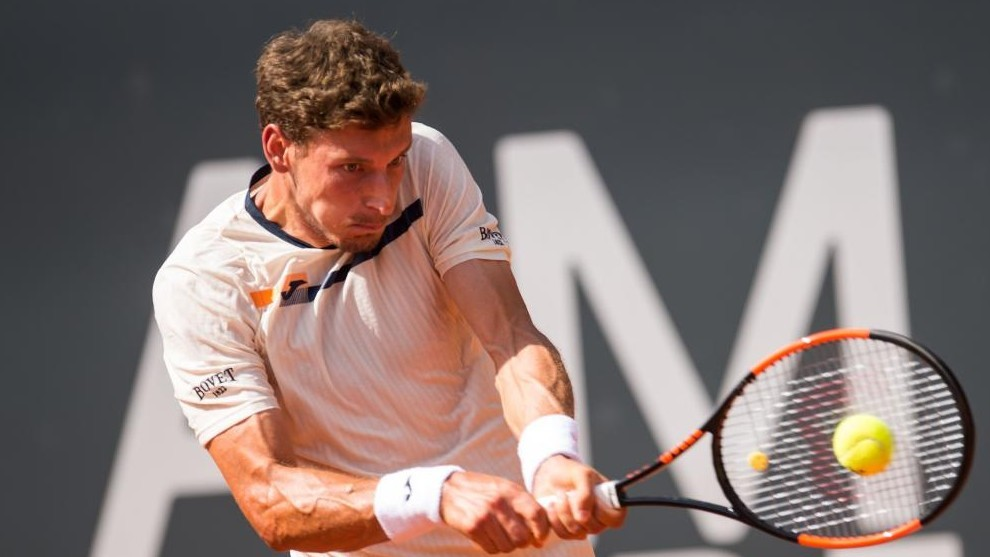 Sorprenden a Dominic Thiem en su territorio favorito — ATP Hamburgo
