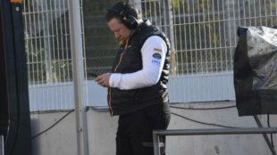 Zak Brown, CEO de McLaren.