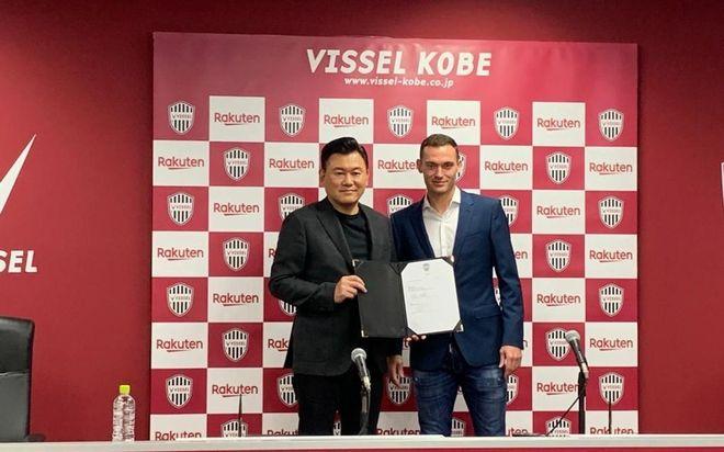 El Kobe ha presentado a Vermaelen antes del partido
