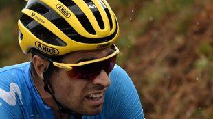 Mikel Landa durante una etapa del Tour de Francia.
