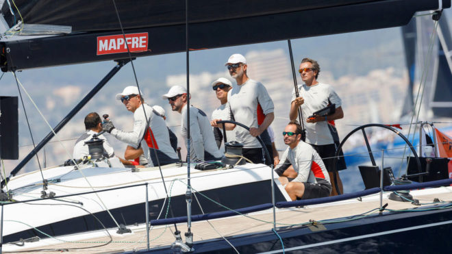 Felipe VI, a la caña del 'Aifos 500' en la la Copa del Rey MAPFRE...