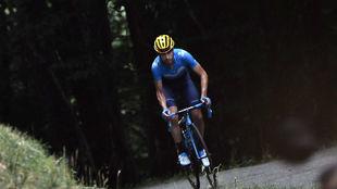 Mikel Landa, escapado en la etapa pirenaica de Foix.