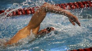 Joan Lluis Pons, cuarto en la final de los 400 m estilos
