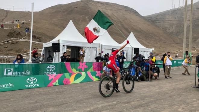 La ciclista entrega otro oro para México.