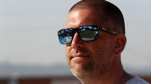Fred Vergnoux, entrenador jefe de la natación española.