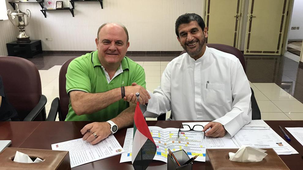 'Zupo' Equisoain tras firmar como seleccionador de EAU /
