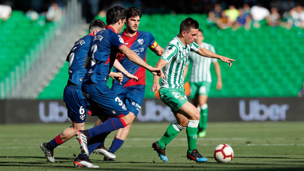 Lo Celso against Huesca.