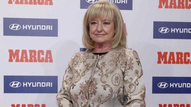 Mari Carmen Izquierdo, en una de las galas de los Premios MARCA.