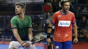 Agustín Tapia y Fernando Belasteguín, esta temporada.