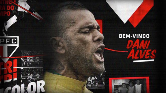 Mercado de Fichajes:La bienvenida del Sao Paulo a Dani Alves