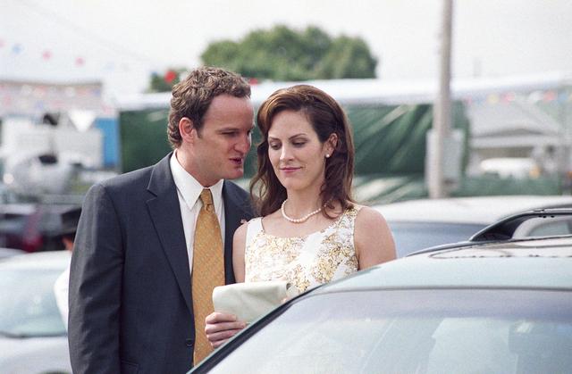El actor Jason Clarke en la serie de televisión 'Brotherhood'