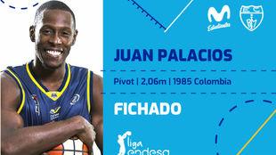 El anuncio de Estudiantes del fichaje de Juan Palacios