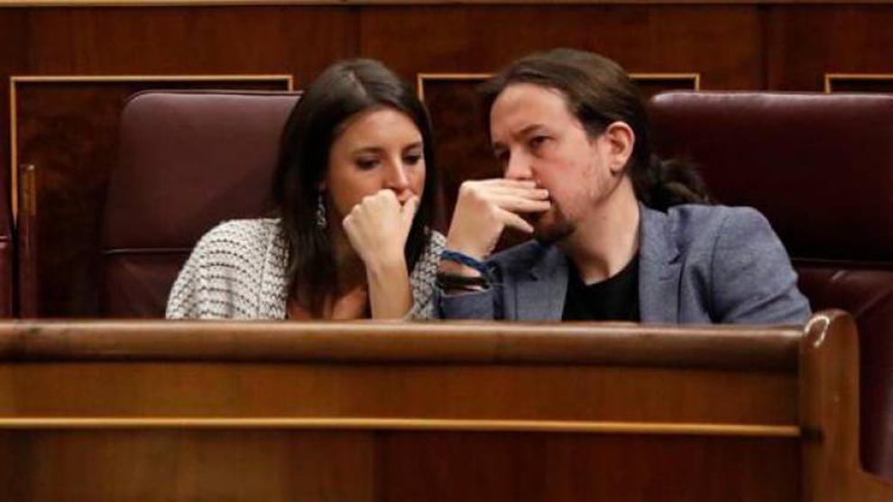 Pablo Iglesias e Irene Montero, agradecidos con el nacimiento de su...