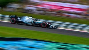 Hamilton en Hungaroring.