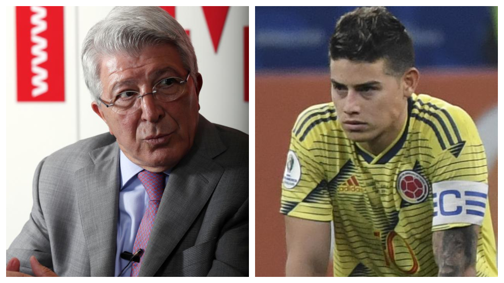 """Atletiko"" prezidenti: ""Xames Rodriges? Jamoamiz usiz ham juda kuchli"""