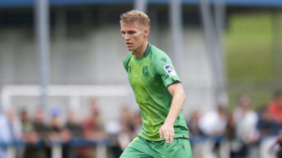 Odegaard ha destacado en la primera mitad en Watford.