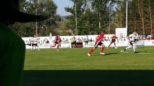 Lance del partido Burgos-Mirandés