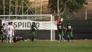 Lance del partido Elche-Albacete
