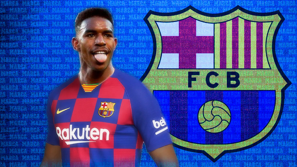 brand new a8fcf d36e4 Barcelona: Official: Barcelona sign Junior Firpo | MARCA in ...