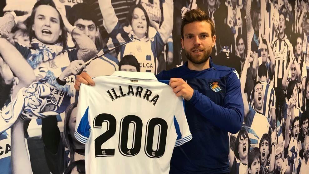 Illarra jugó su partido 200 en la última jornada de la pasada Liga.