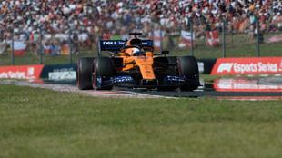 Carlos Sainz en Hungaroring.