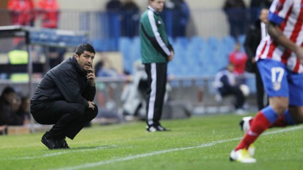 Pedro Emanuel, durante un partido