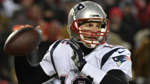 Tom Brady in action for the New England Patriots.