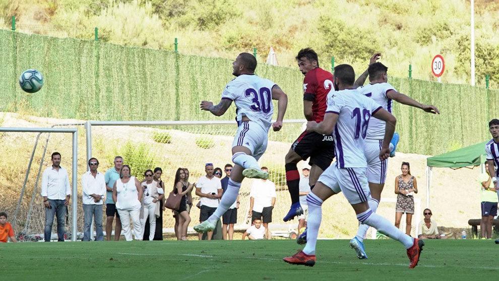 Ante Budimir hace el 1-2 de cabeza