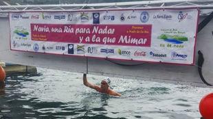 Sharon van Rouwendaal, ganadora en el descenso de la Ría de Navia